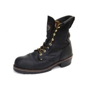 GEORGIA logger boots leather lace up mens NO SIZE